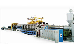 S4.Double-wall Corrugated Pipe Extrusion Line